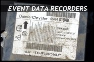 Tech Check - Failure Analysis of Event Data Recorders